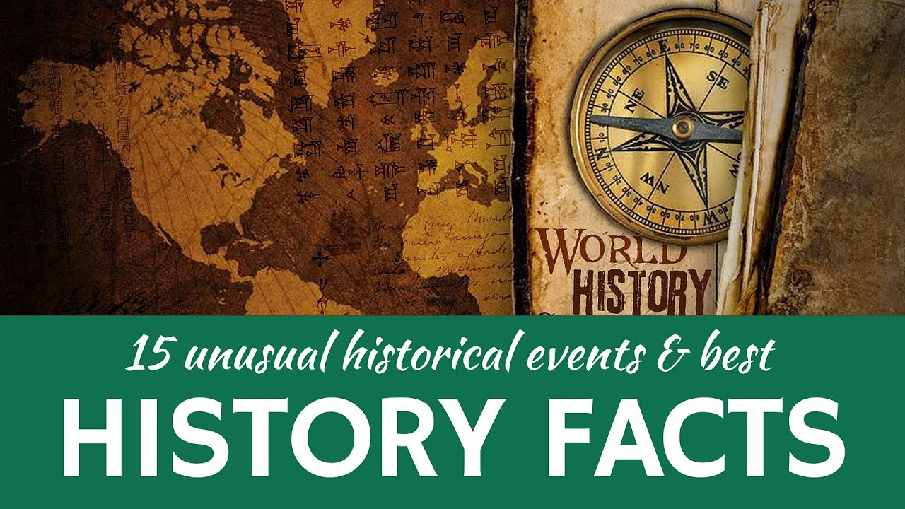 Interesting World History | 15 Historical Facts and Widely Believed Myths