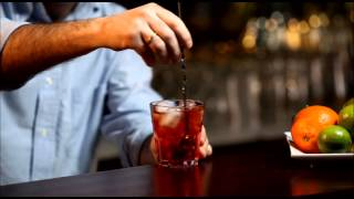 Cocktail Americano  From Cocktail Academy App - English