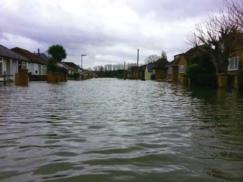 Egham Floods 2014
