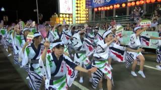 2012 徳島阿波踊り 地医輝連  市役所前演舞場 入場ver. HD