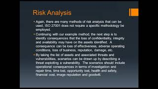 Risk Assessment Considerations For Your ISMS
