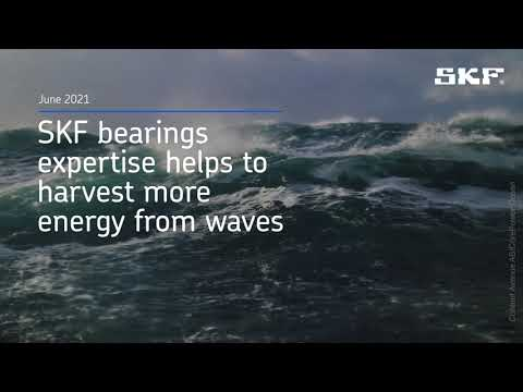 CorPower - SKF bearings expertise helps to harvest more energy from waves