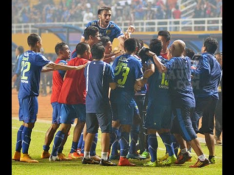 PERSIB VS AREMA 3-1 Semif Final ISL 4 Nov 2014 (Dramatis HD)