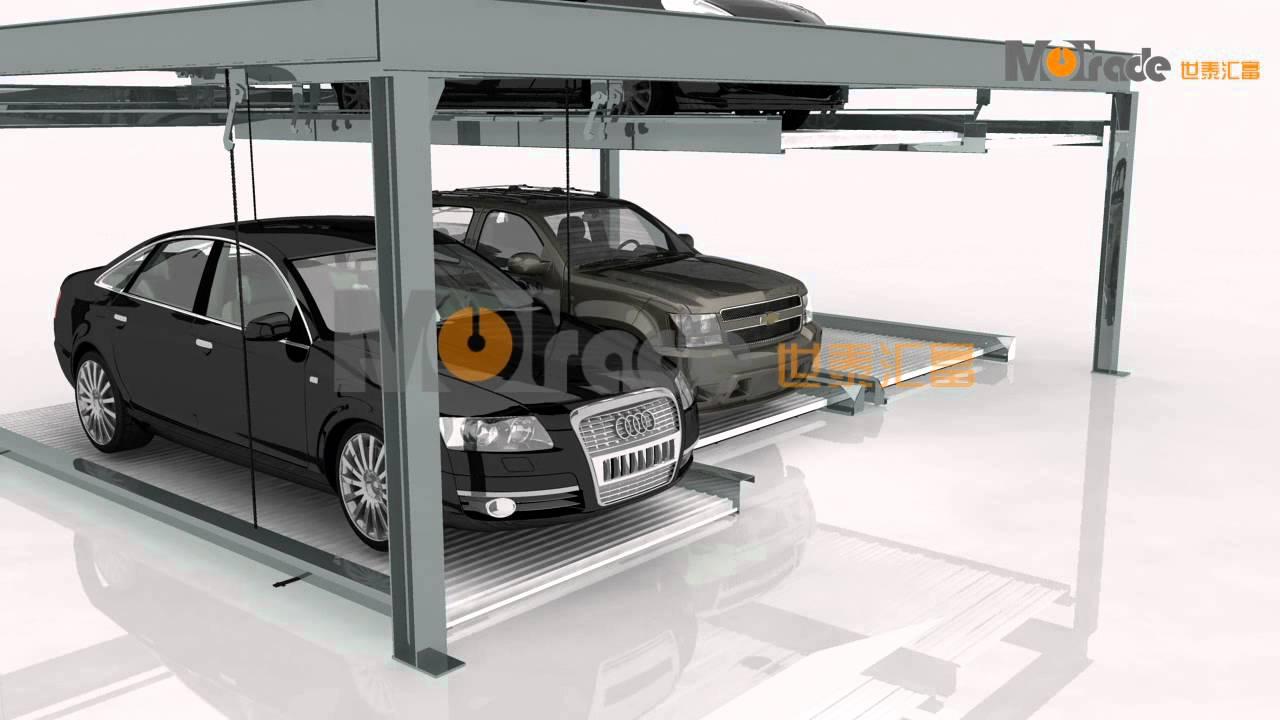 78 hydraulic elevator car home smart parking solutions for Wohnzimmertisch lift