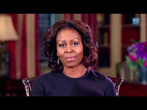 First Lady Michelle Obama 'I'm First' Video