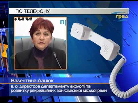 Телерадиокомпания «ГРАД»: Масштабное загрязнение морской воды в Одессе
