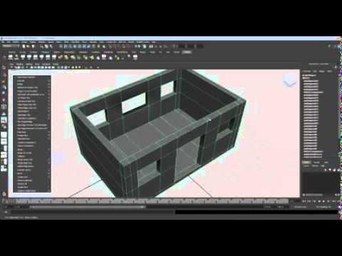 MAYA Tutorial Basic 3D House