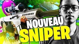 LE NOUVEAU SNIPER DE FORTNITE ONE SHOT TOUT ?! - KINSTAAR GAMEPLAY