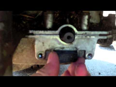 How To Change Brakes On A Lawn Mower Doovi