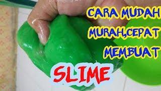 Cara Cepat (1 menit) Membuat SLIME aman dari Tepung TAPIOKA tanpa campuran lem dan slime activator