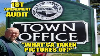 1st Amendment Audit What'ca taking pictures of? Norridgewock town office
