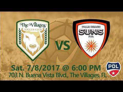 The Villages SC vs Palm Beach Suns FC