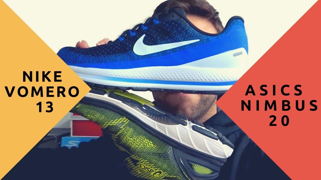 3571e8112517 Asics Nimbus 20 vs Nike Vomero 13 🏃 Duelo de topes de gama - YouTube