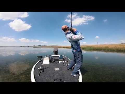 Bass Fishing At RietSpruit Dam - Top Water Action!