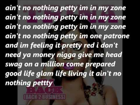 Trina - Petty Lyrics