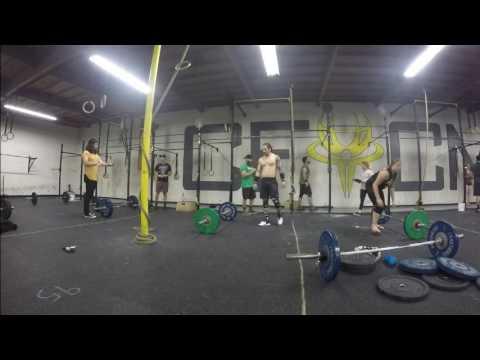 Christian Lucero - CrossFit Open 17.3