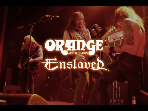 Grutle of Enslaved and Orange Amps
