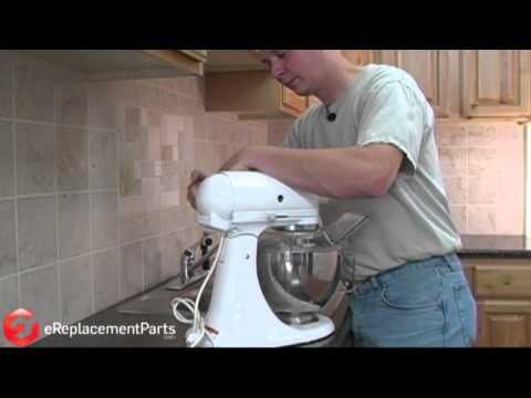 How To Replace The Brushes On A KitchenAid Stand Mixer