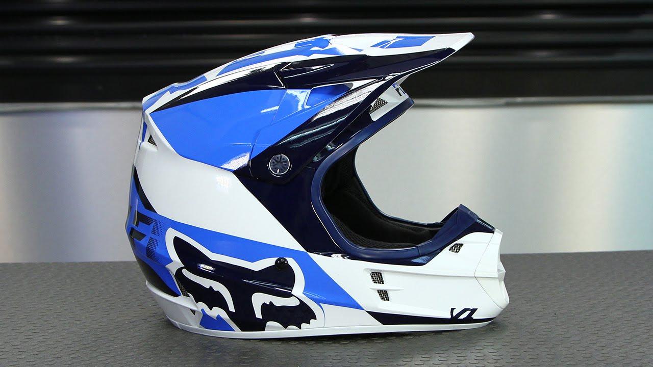 25abe43c3 Fox Racing V1 Mako Helmet