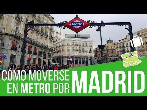 Cómo Moverse Por Madrid En Metro