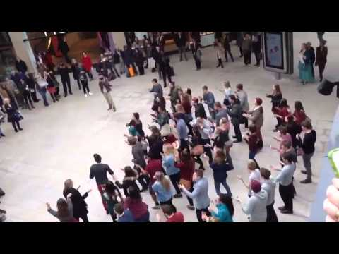 Leeds College of Music Flash Mob: Trinity Leeds, March 14th