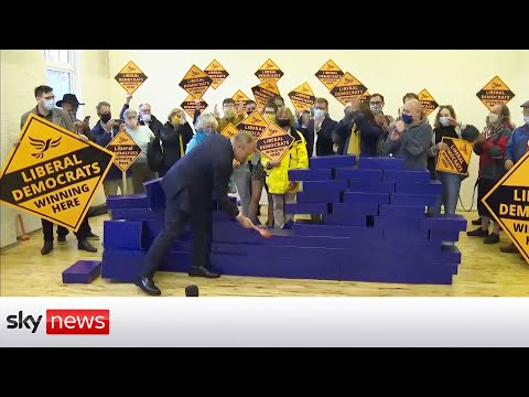 By Election: Liberal Democrats break blue wall with Chesham and Amersham win