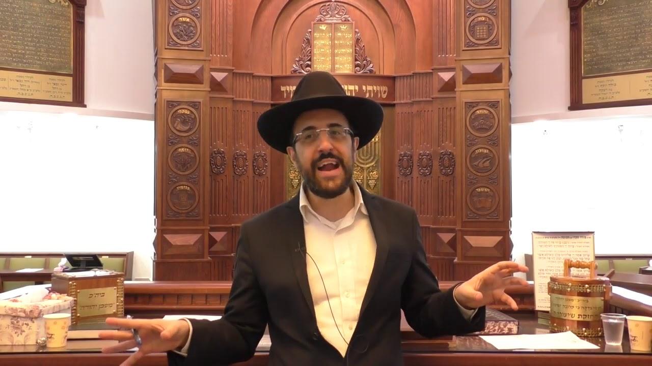 """הרב מאיר אליהו שליט""""א - סוד מאה ברכות - משכן יהודה - עקב תשע""""ט"""
