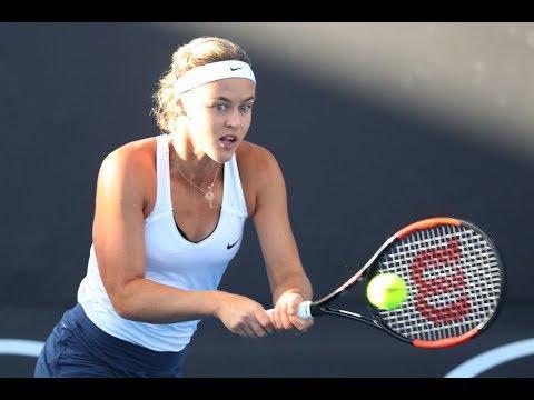 Anna Karolina Schmiedlova vs. Lara Arruabarrena   2018 Bogota Final