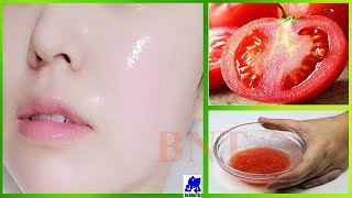 Just 1 Day's! 100% effective Skin whitening Tomato Facial || Remove Dark spots || Best Natural Tips