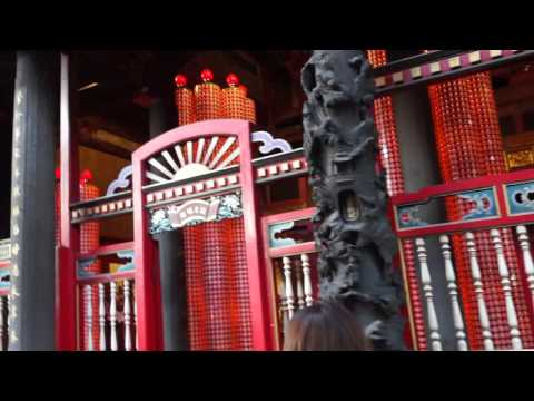 TAIWAN day13| waterfall inside a temple???