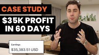 [Case Study] $35K Profit In 60 Days Affiliate Marketing! (Free Traffic)