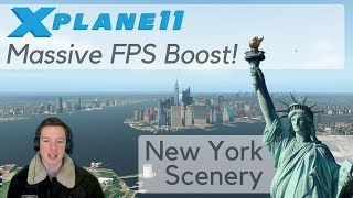 X-Plane FPS Performance Boost / Tweak - Demo on New York Scenery (X-Plane 10/11)