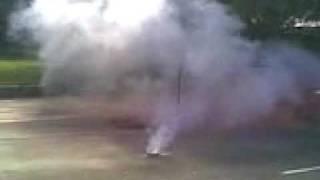 Smoke bomb box