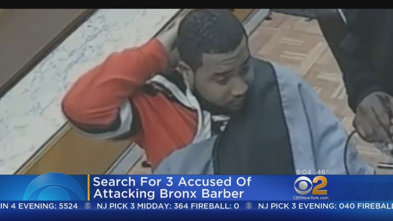 Search For Trio Accused Of Attacking Bronx Barber
