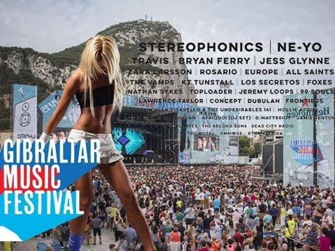 GMF - The Gibraltar Music Festival 2016! VLOG #18