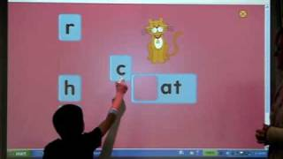 Kindergarten Interactive White Board Use