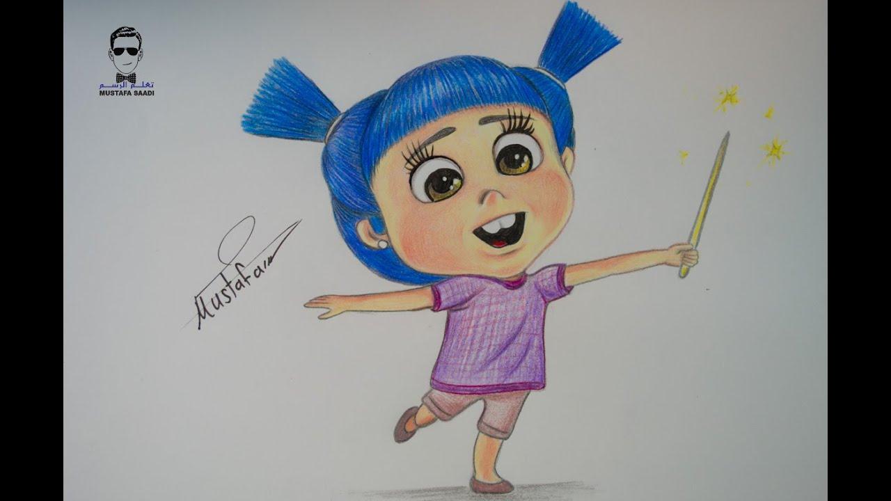 تعليم الرسم تعلم رسم الفتاة الصغيرة في فواصل رمضان Youtube