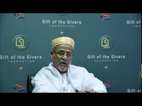 Gift of the Givers Appeal by Habiballah Ahmed, for Mali Hostage, Stephan McGown