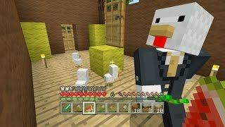 Minecraft Xbox - Sky Den - Chickens In A Suitcase (21)