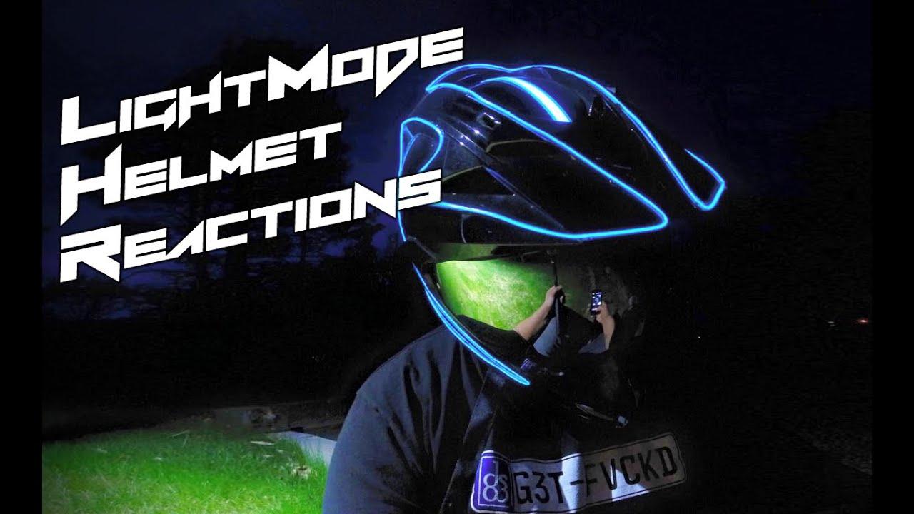 lightmode helmet reactions youtube