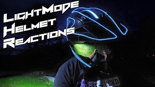 LightMode Helmet Reactions