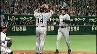 【痛快】阪神が9回に11点入れて巨人を大逆転する(2003)