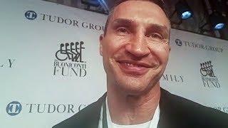 Wladimir Klitschko: I HOPE ANTHONY JOSHUA MAKES IT - Ruiz vs. Joshua 2