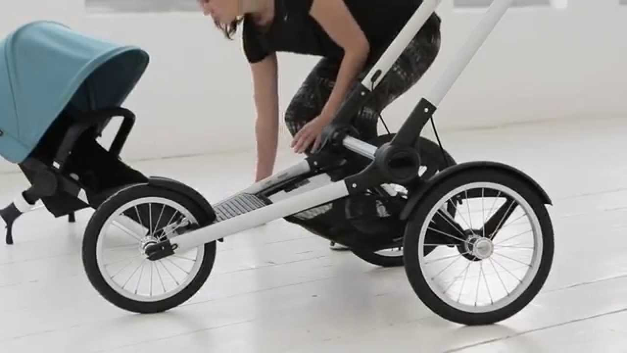 Bugaboo Stroller How To Fold Bugaboo Runner Demo Even More Compact Fold