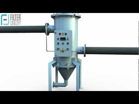 Scrapper Mechanism Self Cleaning Filter Systems | Automatic Filtration Systems | CII certified