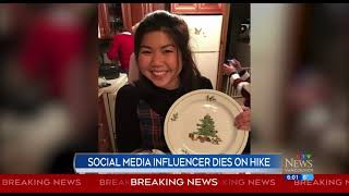 Social media 'influencer' dies on B.C. hike