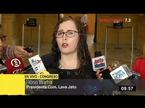 """Rosa Bartra defiende Comisión Lava Jato: """"Dejen de mentir y apoyen la lucha anticorrupción"""""""