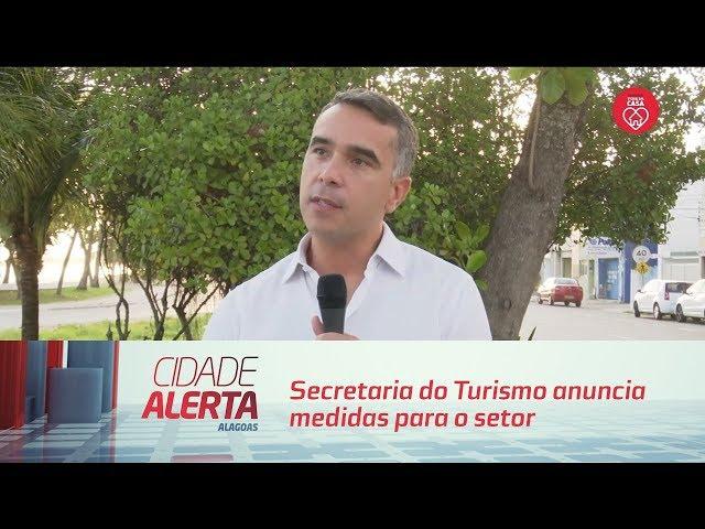 Secretaria do Turismo anuncia medidas para o setor