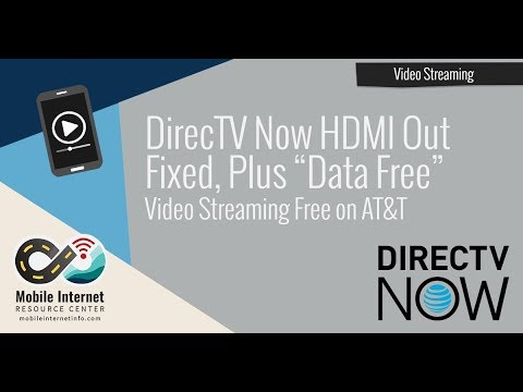 "DirecTV Now 2.1 Update Fixes HDMI Out – And Now Streams ""Data Free"" On AT&T"