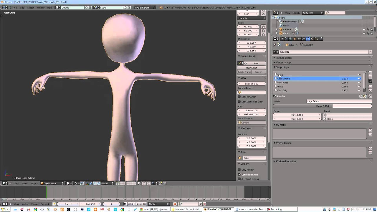 Blender procedural anime character generator youtube 3d builder online